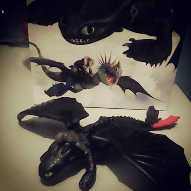 Toothless Toy in How To Train Your Dragon 2