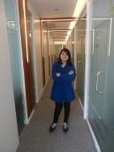 The narrow hallway outside my cube. Isn't it nice?