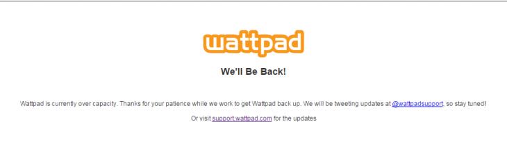 wattpad disadvantage
