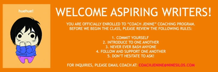 Rules to Follow in Coach Jenine